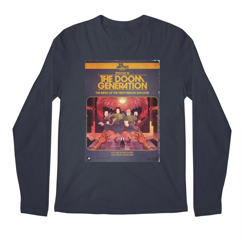 Box Art Apparel Series: The Doom Generation Men's Regular Longsleeve T-Shirt by The Artists