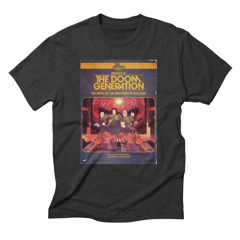 Box Art Apparel Series: The Doom Generation Men's Triblend T-Shirt by The Artists