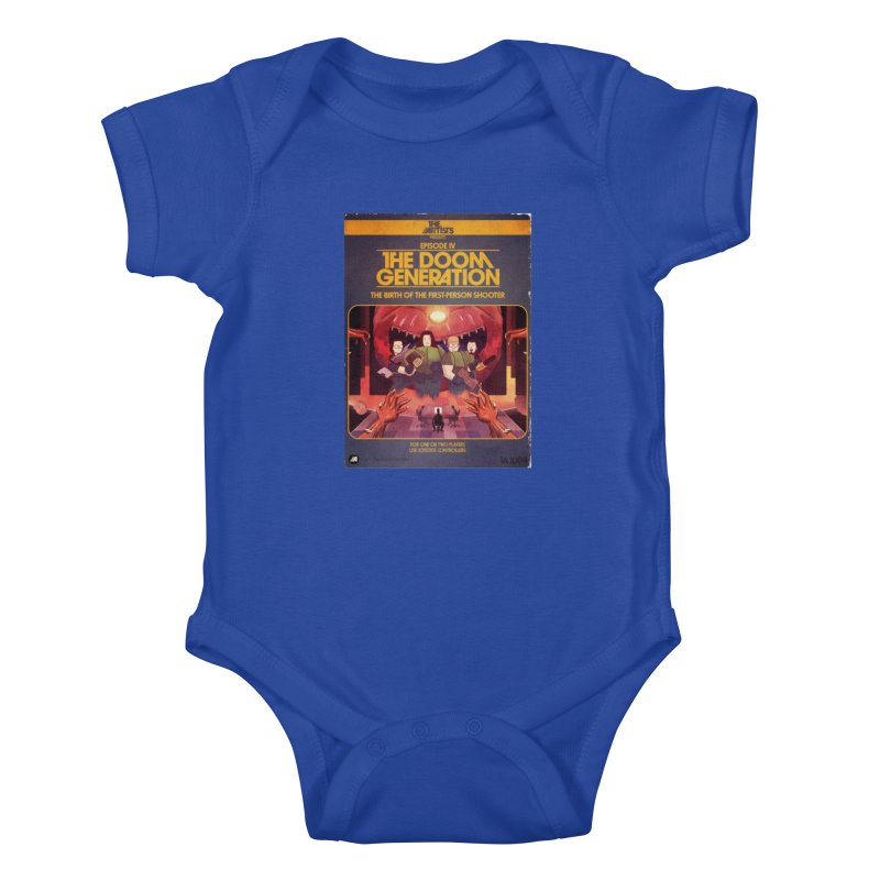 Box Art Apparel Series: The Doom Generation Kids Baby Bodysuit by The Artists