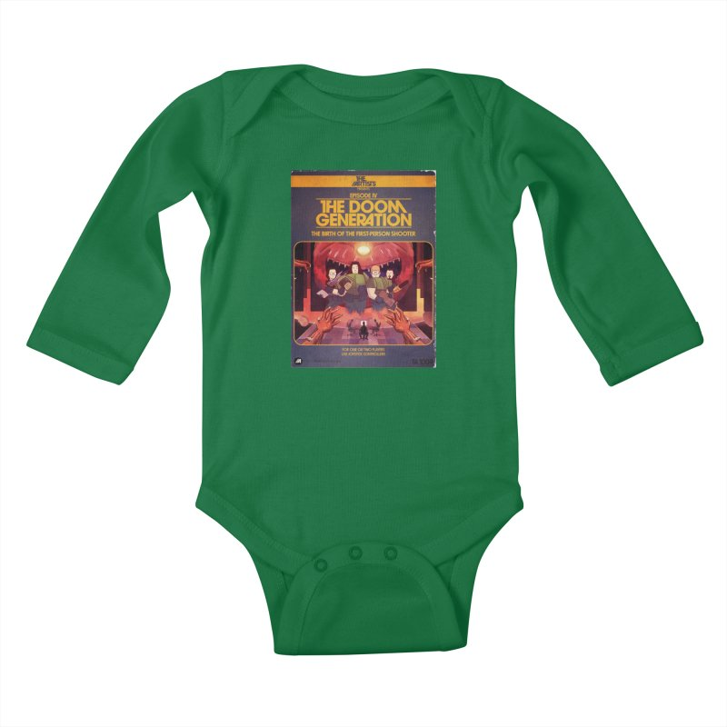 Box Art Apparel Series: The Doom Generation Kids Baby Longsleeve Bodysuit by The Artists
