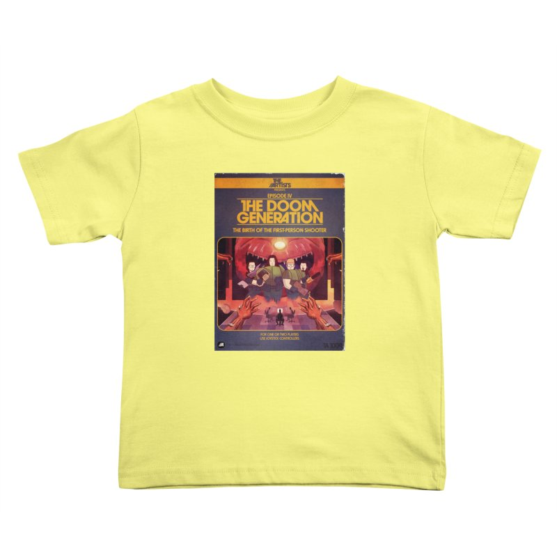 Box Art Apparel Series: The Doom Generation Kids Toddler T-Shirt by The Artists