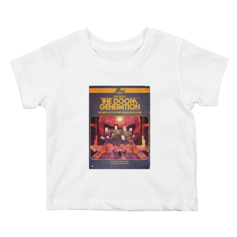Box Art Apparel Series: The Doom Generation Kids Baby T-Shirt by The Artists