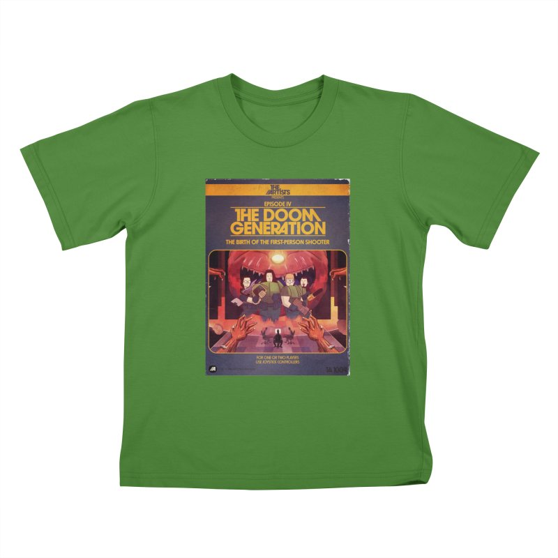 Box Art Apparel Series: The Doom Generation Kids  by The Artists