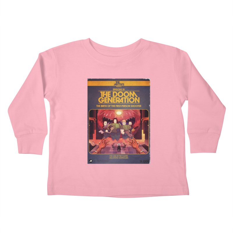 Box Art Apparel Series: The Doom Generation Kids Toddler Longsleeve T-Shirt by The Artists