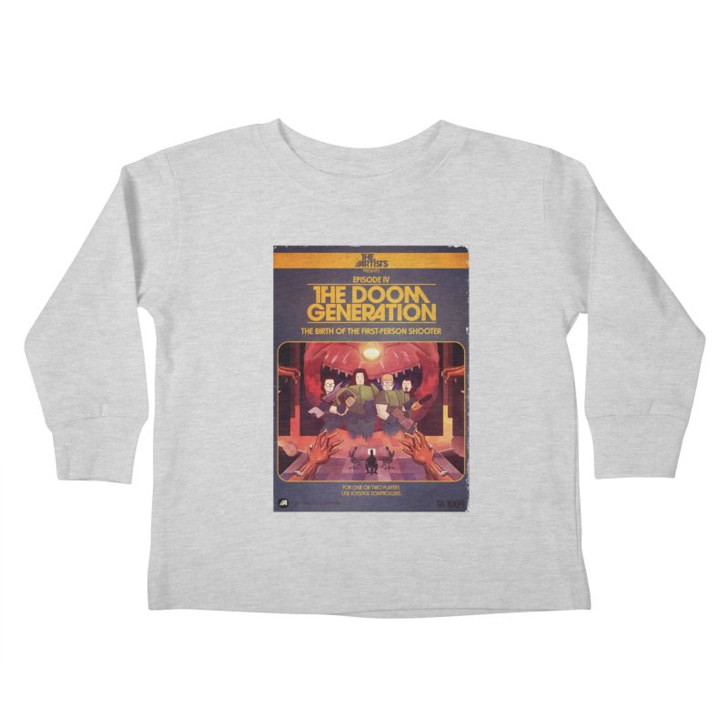 Box Art Apparel Series: The Doom Generation Kids Toddler Longsleeve T-Shirt by The Artists