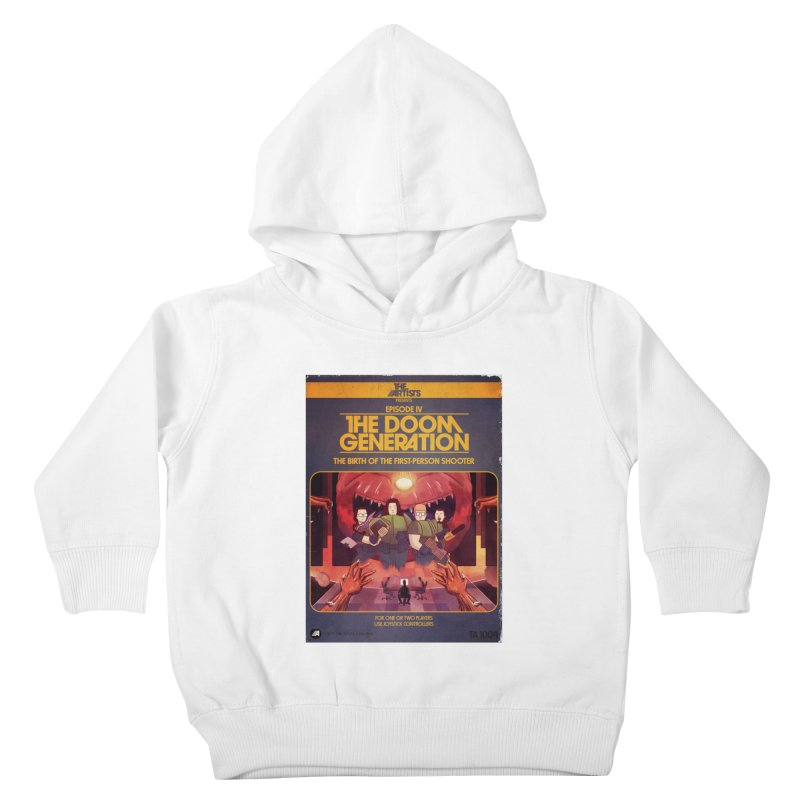 Box Art Apparel Series: The Doom Generation Kids Toddler Pullover Hoody by The Artists