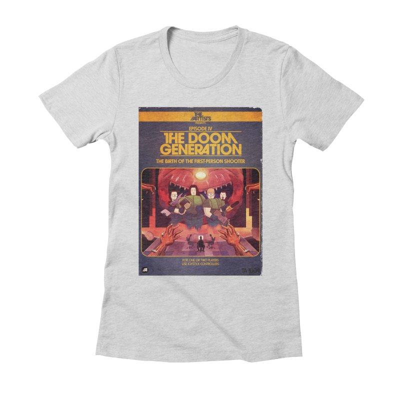 Box Art Apparel Series: The Doom Generation Women's T-Shirt by The Artists