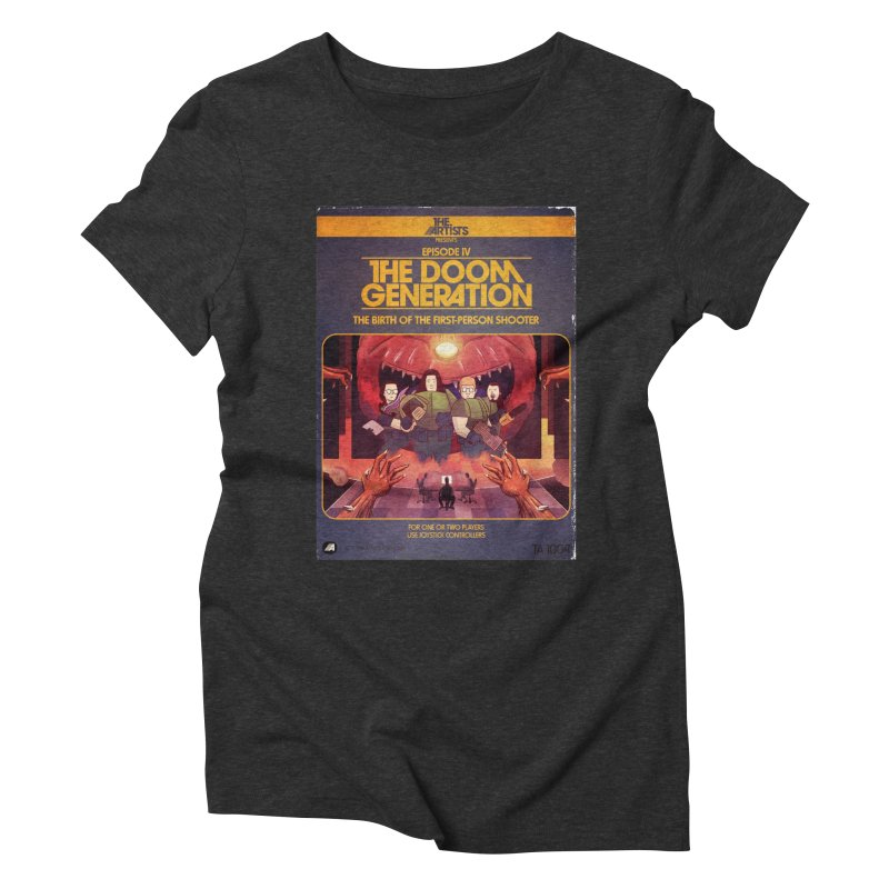 Box Art Apparel Series: The Doom Generation Women's Triblend T-Shirt by The Artists