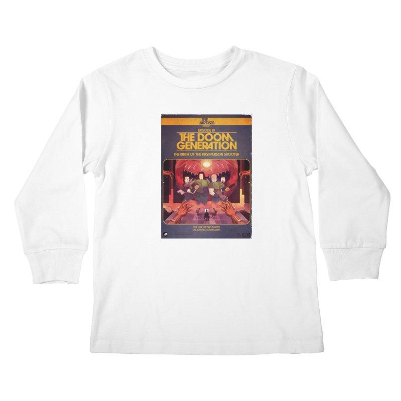 Box Art Apparel Series: The Doom Generation Kids Longsleeve T-Shirt by The Artists
