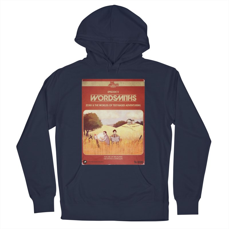 Box Art Apparel Series: Wordsmiths Men's Pullover Hoody by The Artists