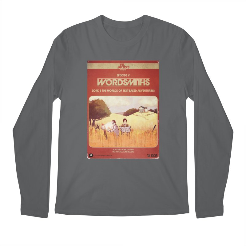 Box Art Apparel Series: Wordsmiths Men's Longsleeve T-Shirt by The Artists