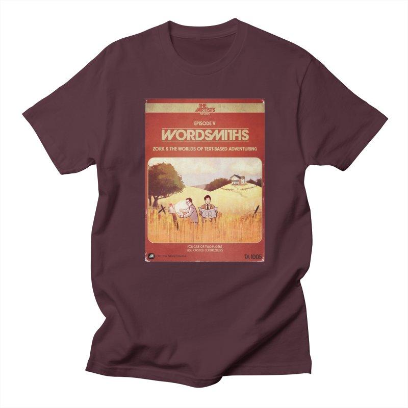 Box Art Apparel Series: Wordsmiths Men's T-Shirt by The Artists