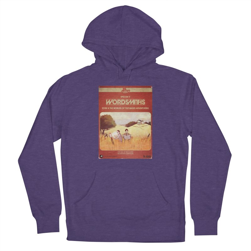 Box Art Apparel Series: Wordsmiths Women's Pullover Hoody by The Artists