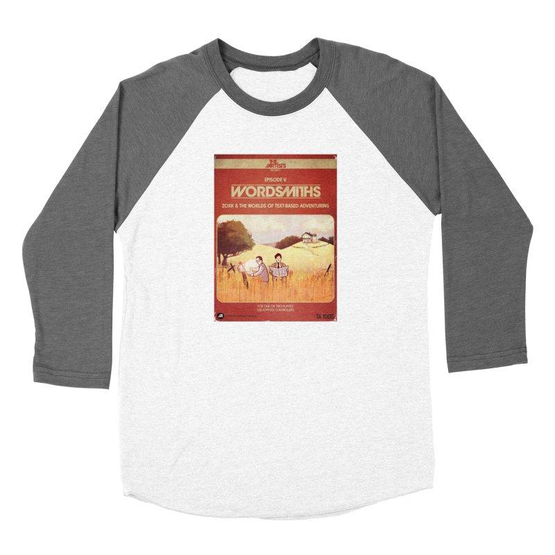 Box Art Apparel Series: Wordsmiths Women's Longsleeve T-Shirt by The Artists