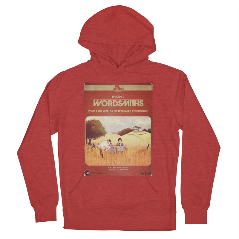 Box Art Apparel Series: Wordsmiths Women's French Terry Pullover Hoody by The Artists
