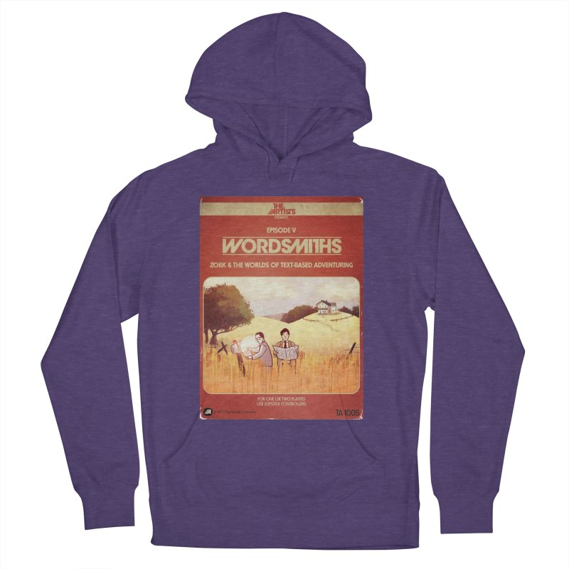 Box Art Apparel Series: Wordsmiths Men's French Terry Pullover Hoody by The Artists