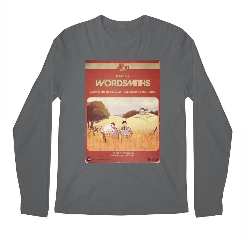 Box Art Apparel Series: Wordsmiths Men's Longsleeve T-Shirt by The Artists