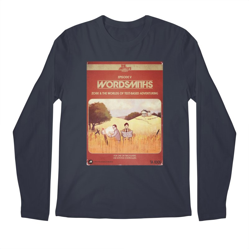 Box Art Apparel Series: Wordsmiths Men's Regular Longsleeve T-Shirt by The Artists