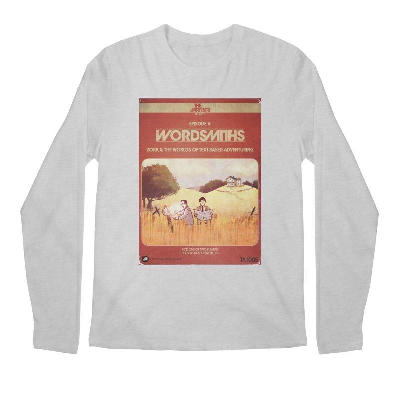 Box Art Apparel Series: Wordsmiths Men's Regular Longsleeve T-Shirt by The Artists
