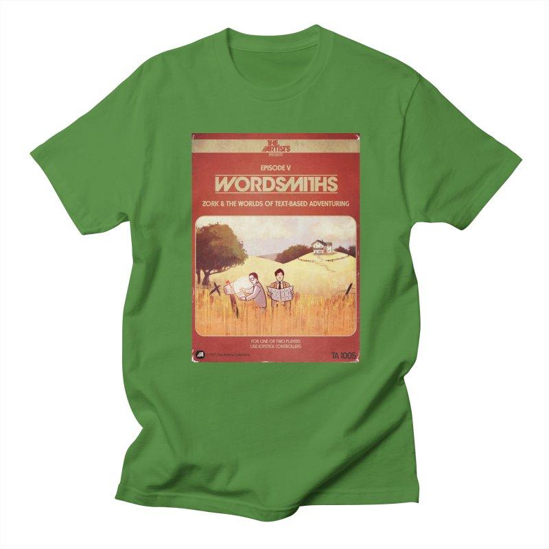 Box Art Apparel Series: Wordsmiths Men's Regular T-Shirt by The Artists