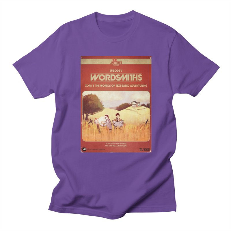 Box Art Apparel Series: Wordsmiths Men's T-Shirt by The Artists