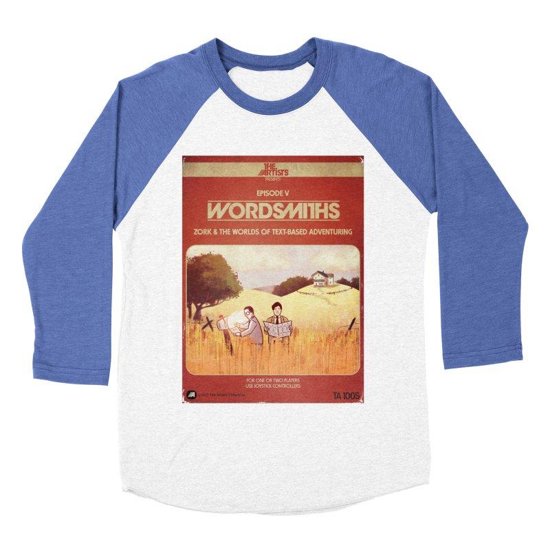 Box Art Apparel Series: Wordsmiths Men's Baseball Triblend Longsleeve T-Shirt by The Artists