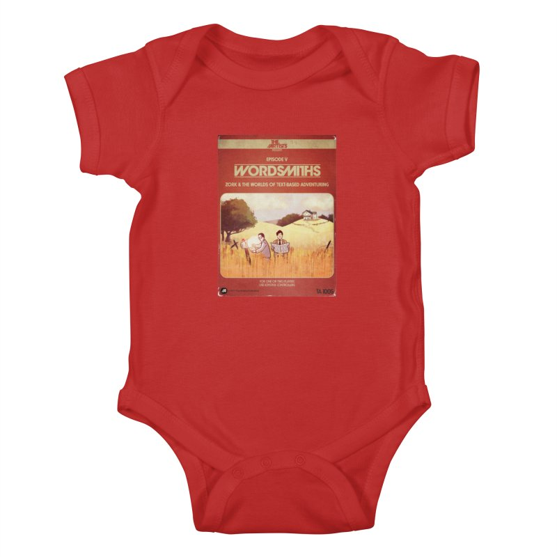 Box Art Apparel Series: Wordsmiths Kids Baby Bodysuit by The Artists