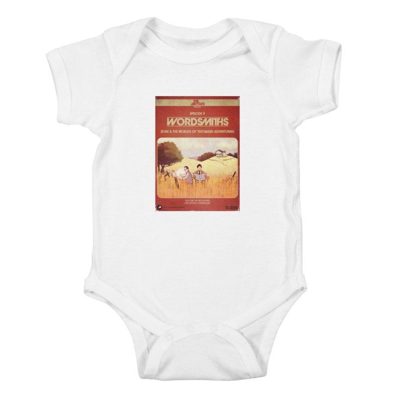 Box Art Apparel Series: Wordsmiths Kids Baby Bodysuit by The Artists