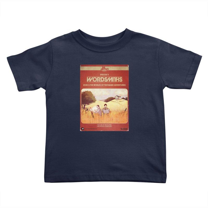 Box Art Apparel Series: Wordsmiths Kids Toddler T-Shirt by The Artists
