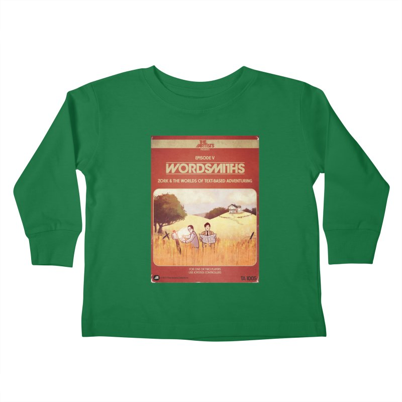 Box Art Apparel Series: Wordsmiths Kids Toddler Longsleeve T-Shirt by The Artists