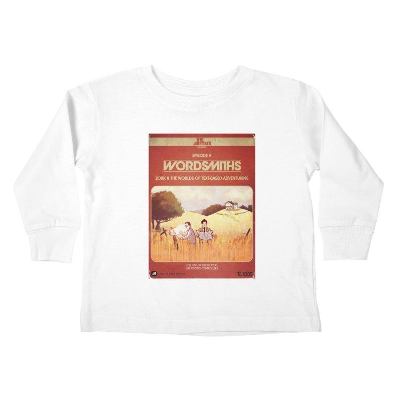 Box Art Apparel Series: Wordsmiths Kids Toddler Longsleeve T-Shirt by The Artists