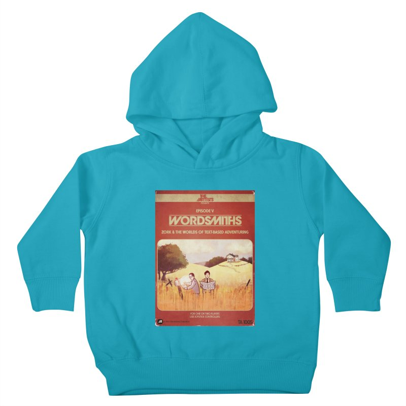 Box Art Apparel Series: Wordsmiths Kids Toddler Pullover Hoody by The Artists