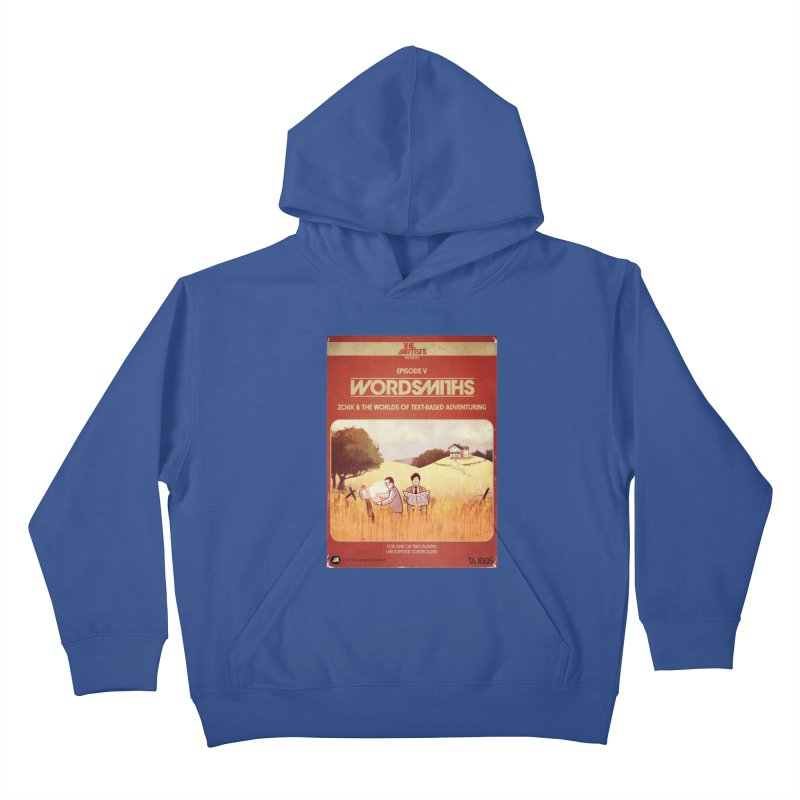 Box Art Apparel Series: Wordsmiths Kids Pullover Hoody by The Artists