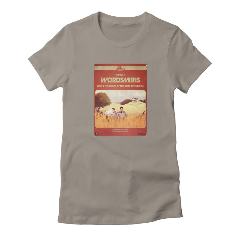 Box Art Apparel Series: Wordsmiths Women's T-Shirt by The Artists