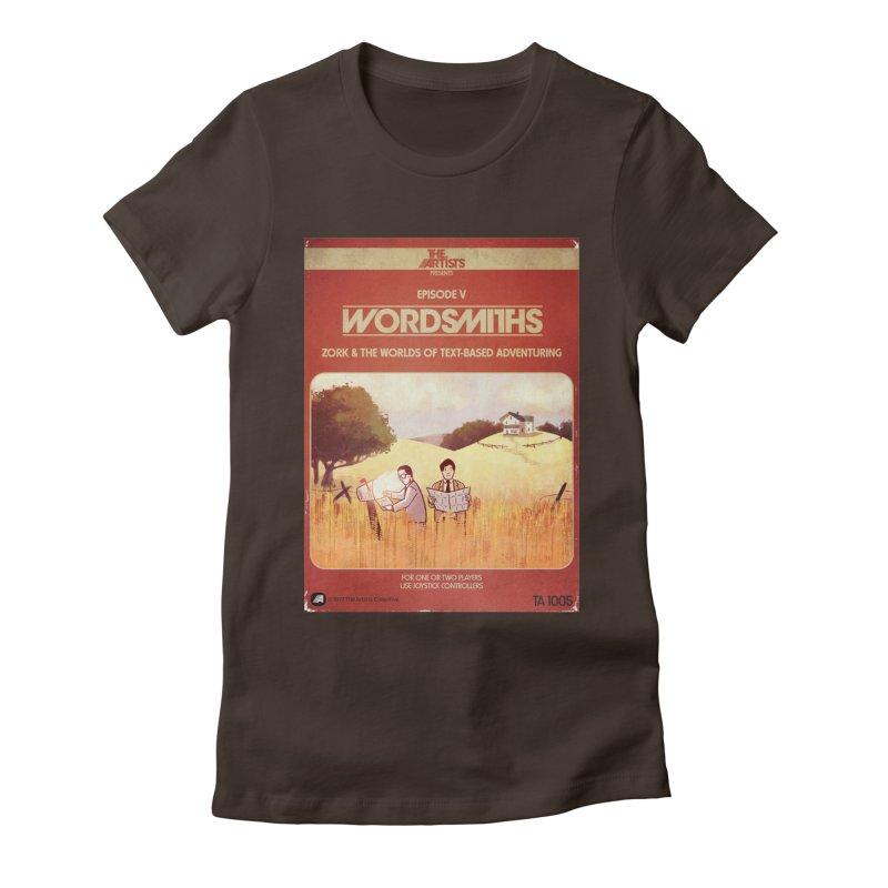 Box Art Apparel Series: Wordsmiths Women's T-Shirt by The Artists