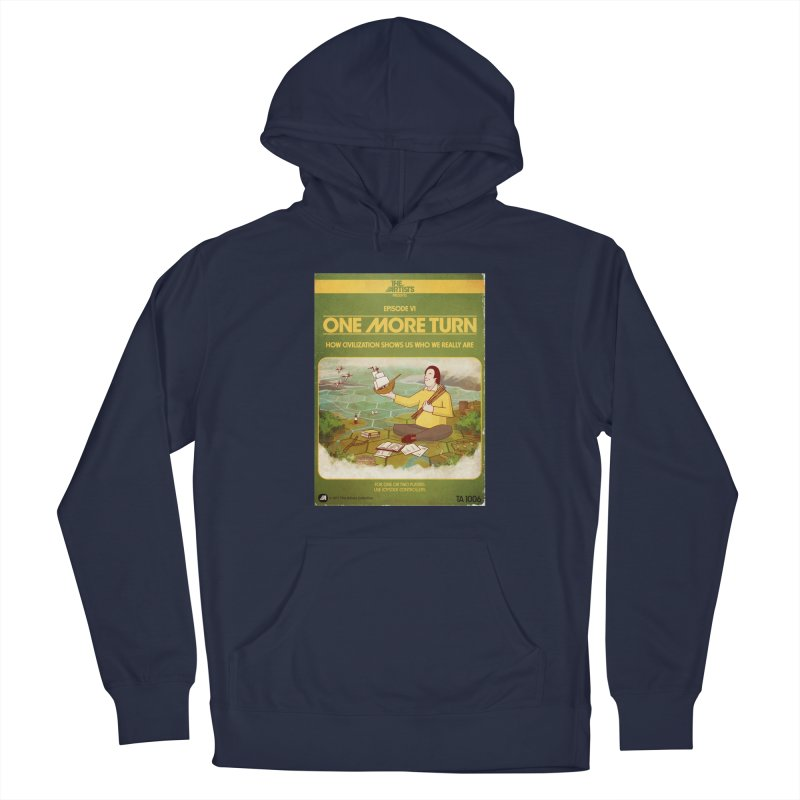 Box Art Apparel Series: One More Turn Men's Pullover Hoody by The Artists