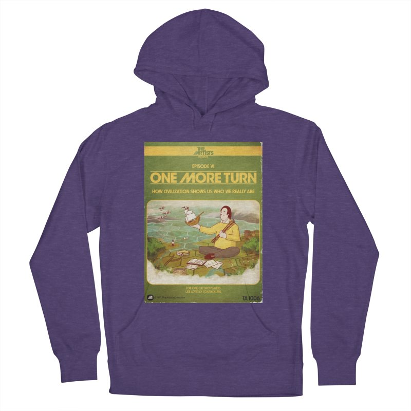 Box Art Apparel Series: One More Turn Women's French Terry Pullover Hoody by The Artists