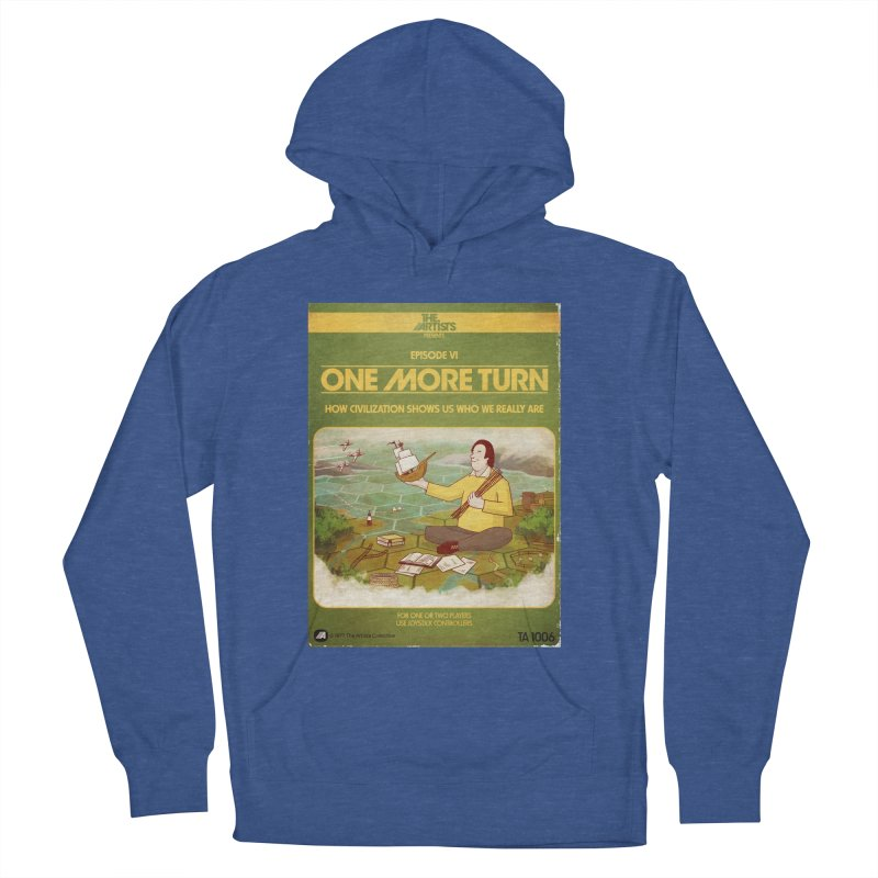 Box Art Apparel Series: One More Turn Men's French Terry Pullover Hoody by The Artists