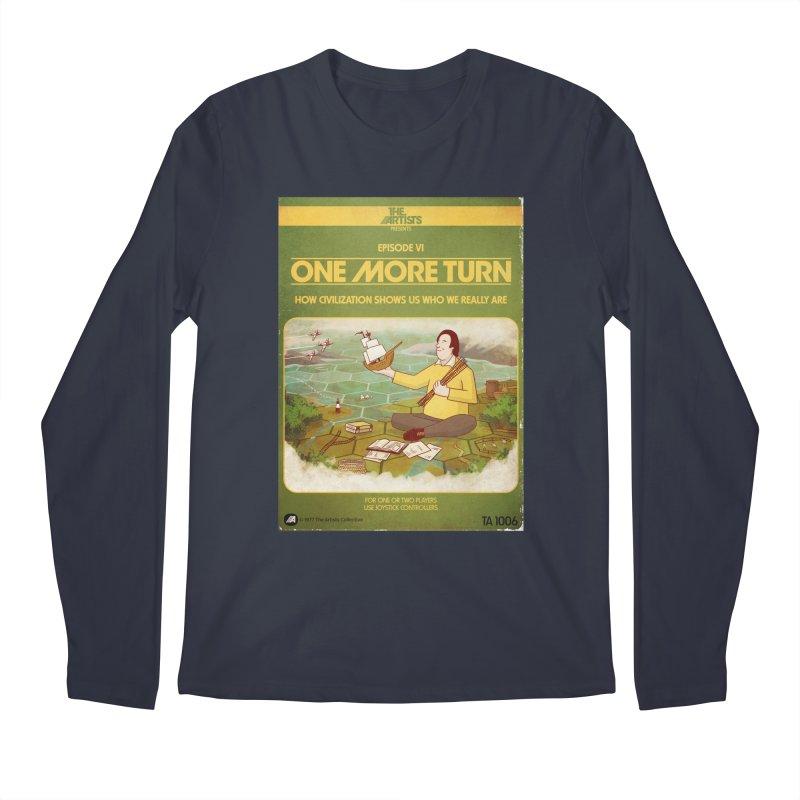 Box Art Apparel Series: One More Turn Men's Regular Longsleeve T-Shirt by The Artists