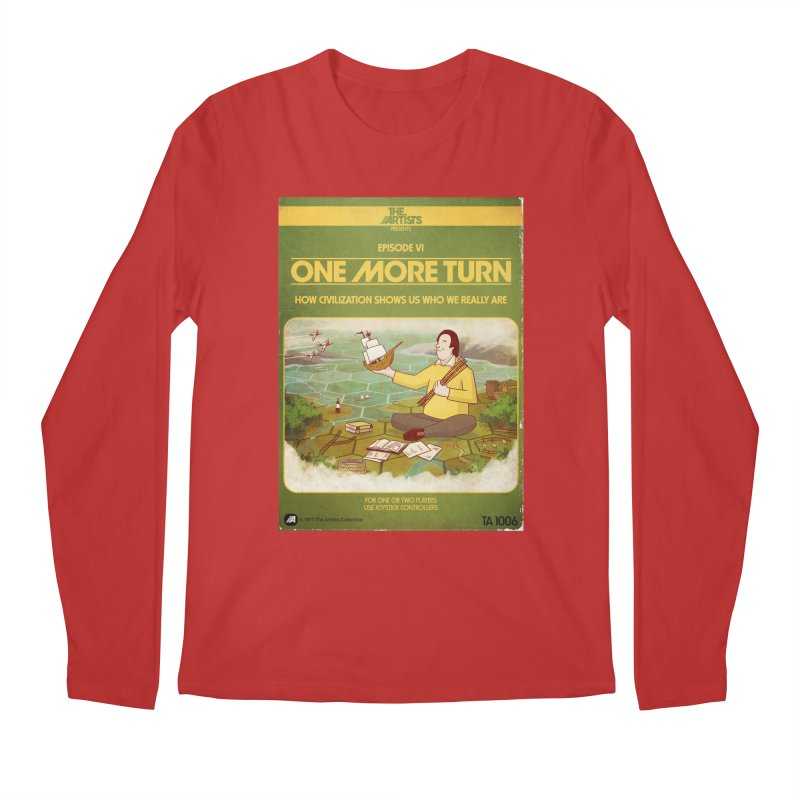Box Art Apparel Series: One More Turn Men's Regular Longsleeve T-Shirt by The Artists