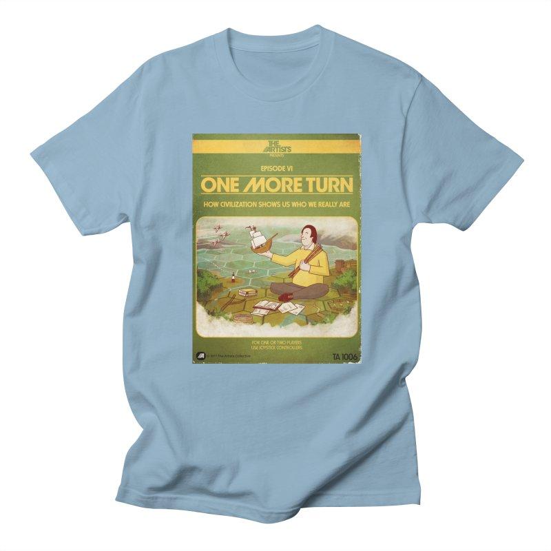 Box Art Apparel Series: One More Turn Men's Regular T-Shirt by The Artists