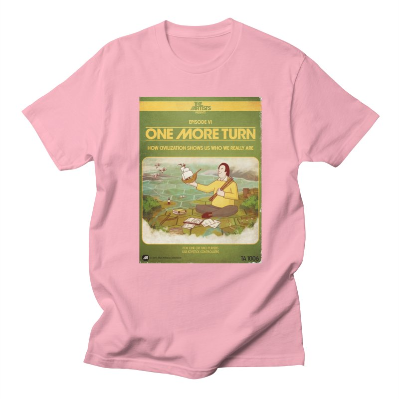 Box Art Apparel Series: One More Turn Men's Regular T-Shirt by The Artists