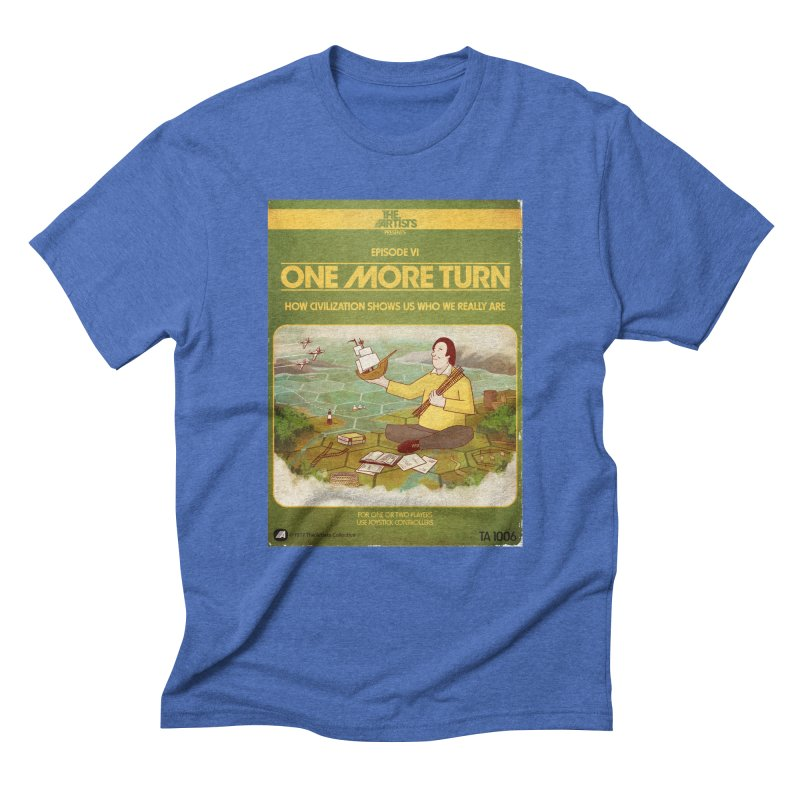 Box Art Apparel Series: One More Turn Men's T-Shirt by The Artists