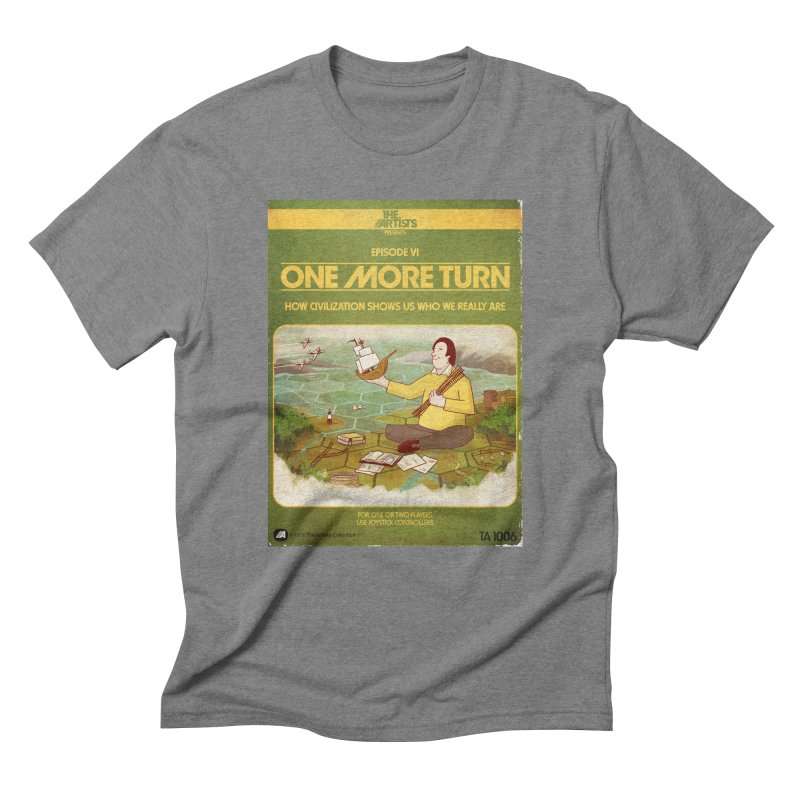 Box Art Apparel Series: One More Turn Men's Triblend T-Shirt by The Artists