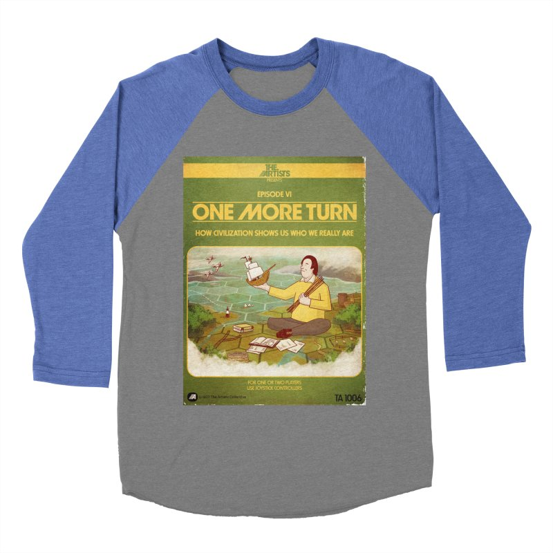 Box Art Apparel Series: One More Turn Women's Baseball Triblend Longsleeve T-Shirt by The Artists