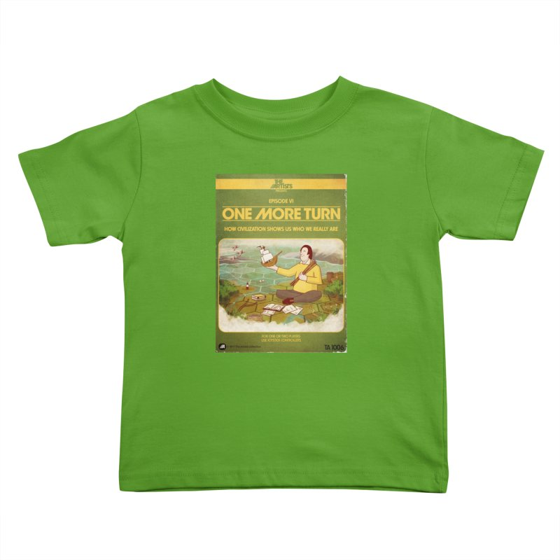 Box Art Apparel Series: One More Turn Kids Toddler T-Shirt by The Artists