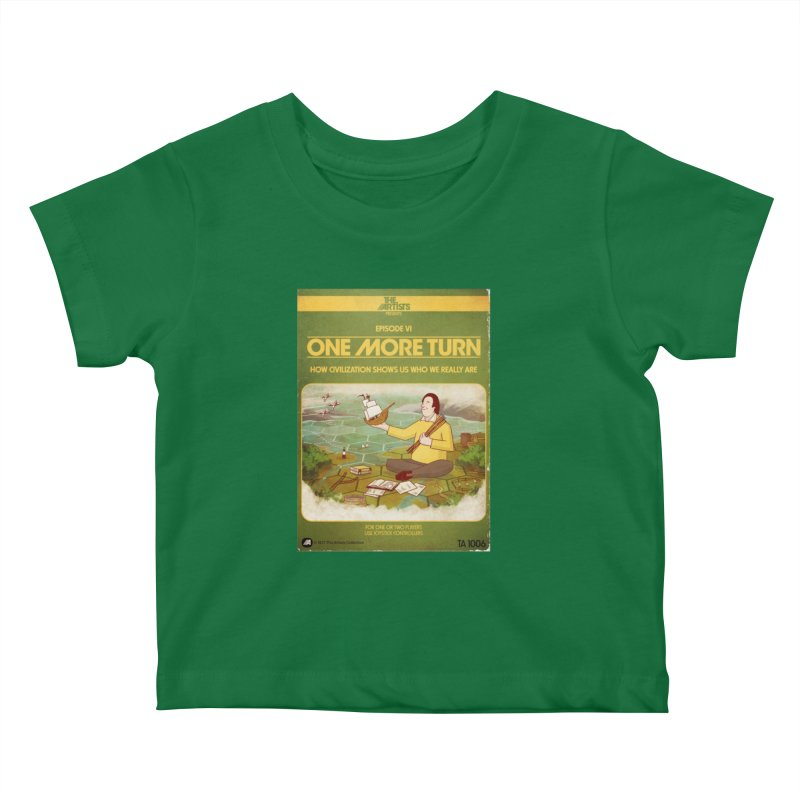 Box Art Apparel Series: One More Turn Kids Baby T-Shirt by The Artists
