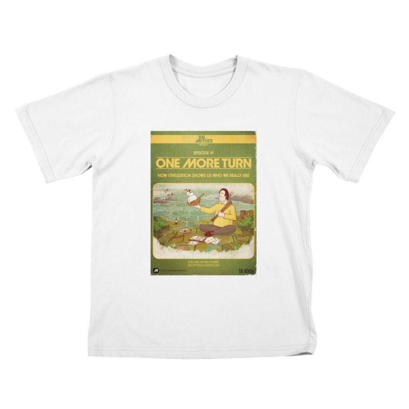 Box Art Apparel Series: One More Turn Kids T-Shirt by The Artists