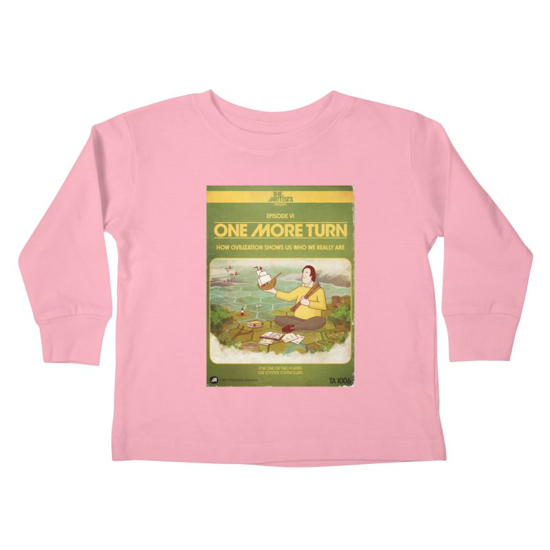 Box Art Apparel Series: One More Turn Kids Toddler Longsleeve T-Shirt by The Artists