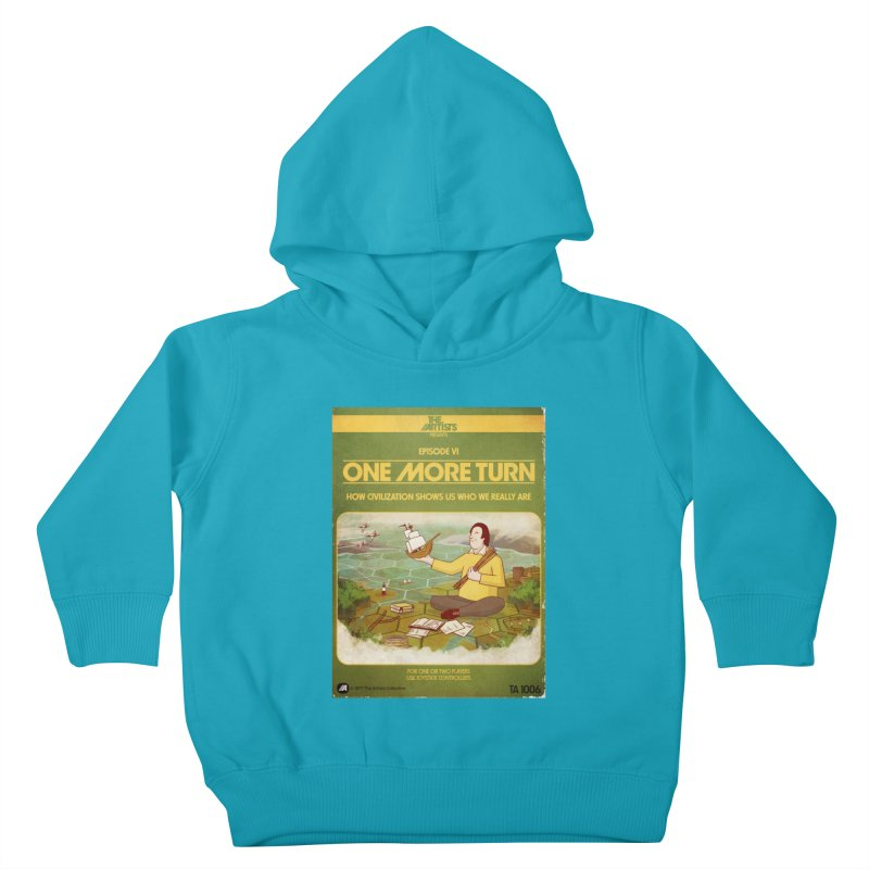Box Art Apparel Series: One More Turn Kids Toddler Pullover Hoody by The Artists